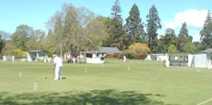 Tournament play at United Croquet Club
